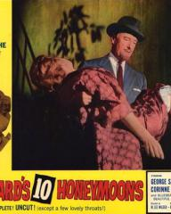 Lobby card from Bluebeard's Ten Honeymoons (1960) (6)