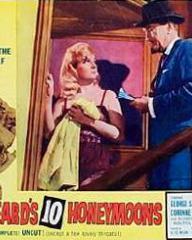 Lobby card from Bluebeard's Ten Honeymoons (1960) (9)