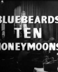 Main title from Bluebeard's Ten Honeymoons (1960)