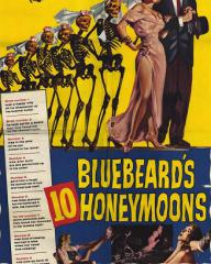 Poster for Bluebeard's Ten Honeymoons (1960) (1)