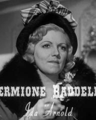 Main title from Brighton Rock (1948) (3).  Hermione Baddeley as Ida Arnold