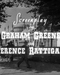 Main title from Brighton Rock (1948) (8).  Screenplay by Graham Greene and Terence Rattigan