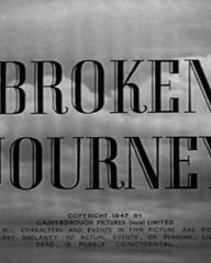 Main title from Broken Journey (1948)