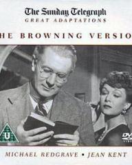 Michael Redgrave (as Andrew Crocker-Harri) and Jean Kent (as Millie Crocker-Harri) in a DVD cover of The Browning Version (1951) (2)