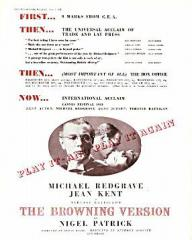 Pressbook for The Browning Version (1951) (1)