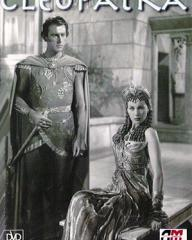 Stewart Granger (as Apollodorus) and Vivien Leigh (as Cleopatra) in a DVD cover of Caesar and Cleopatra (1945) (2)