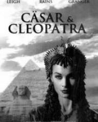 Vivien Leigh (as Cleopatra) in a German DVD cover of Caesar and Cleopatra (1945) (1)