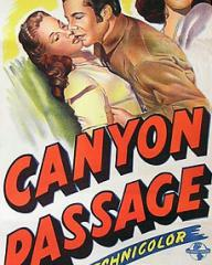 Australian poster for Canyon Passage (1946) (1)