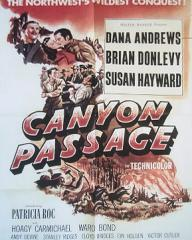Poster for Canyon Passage (1946) (1)