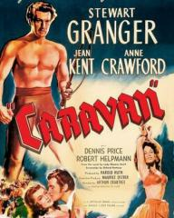 Poster from Caravan (1946) (2). The great new lover of the screen!