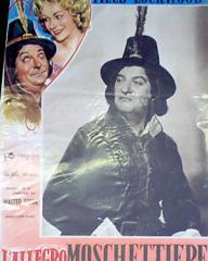 Italian poster for Cardboard Cavalier (1949) (1)