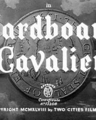 Main title from Cardboard Cavalier (1949) (3)