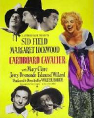 Poster for Cardboard Cavalier (1949) (2)