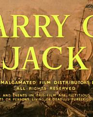Main title from Carry on Jack (1964) (2).  Copyright Anglo Amalgamated Film Distributors Ltd 1964.  All rights reserved.  All characters and events in this film are fictitious.  Any similarity to actual events or persons living or dead, is purely coincidental