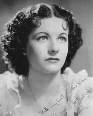 Margaret Lockwood (as Mildred Perry) in a photograph from The Case of Gabriel Perry (1935) (1)
