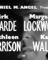 Main title from Cast a Dark Shadow (1955) (2). Dirk Bogarde, Margaret Lockwood, Kathleen Harrison, Kay Walsh in