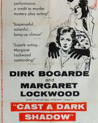 Poster for Cast a Dark Shadow (1955) (3)