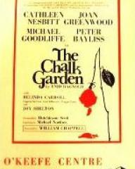 Programme from The Chalk Garden (1971) at the O'Keefe Centre, Toronto (1)