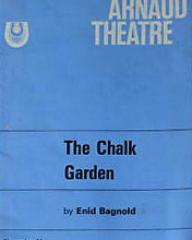 Programme from The Chalk Garden (1971) at the Yvonne Arnaud Theatre, Guildford (1)