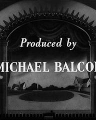 Main title from Champagne Charlie (1944) (10).  Produced by Michael Balcon