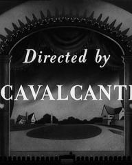 Main title from Champagne Charlie (1944) (11).  Directed by Cavalcanti