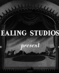 Main title from Champagne Charlie (1944) (2).  Ealing Studios present