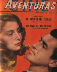 Cine Aventuras magazine with Deborah Kerr and  Stewart Granger in King Solomon's Mines.  (Argentine)