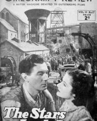 Cinegram Preview magazine with Michael Redgrave and  Margaret Lockwood in The Stars Look Down.  Volume 5, issue number 17.  A British magazine devoted to outstanding films.