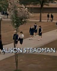 Main title from Clockwise (1986) (10). Alison Steadman