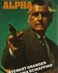 Stewart Granger (as Michael Scott) in a video cover from Code Name Alpha (1965) (1)