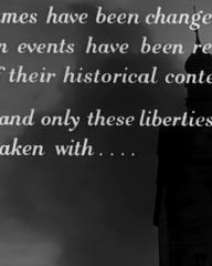 Main title from The Colditz Story (1955) (2). These and only these liberties have been taken with…