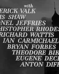 Main title from The Colditz Story (1955) (6). Frederick Valk, Denis Shaw, Lionel Jeffries, Christopher Rhodes, Richard Wattis, Ian Carmichael