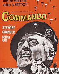 American poster for Commando [The Legion's Last Patrol] (1962) (1)
