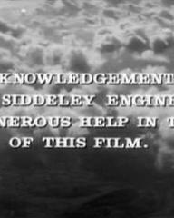 Main title from Cone of Silence (1960) (10).  Grateful acknowledgement is made to Bristol Siddeley Engines Ltd for their generous help in the making of this film