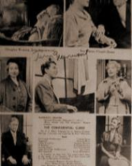 Programme from The Confidential Clerk (1954) at the Morosco Theatre, New York (4)