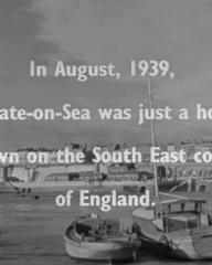 Screenshot from Contraband (1940) (1). In August, 1939, Eastgate-on-Sea was just a holiday town on the South East coast of England