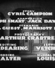 Main title from Convict 99 (1938) (5)