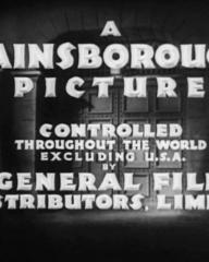 Main title from Convict 99 (1938) (6).  A Gainsborough Picture controlled throughout the world excluding USA by General Film Distributors Limited