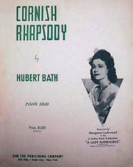 Sheet music from the 1944 film, Love Story (Cornish Rhapsody)