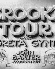 Main title from Crook's Tour (1940) (3). Basil Radford and Naunton Wayne in