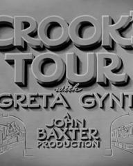 Main title from Crook's Tour (1940) (4). With Greta Gynt. A John Baxter Production