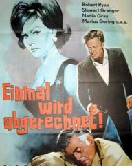 German poster for The Crooked Road (1965) (1)