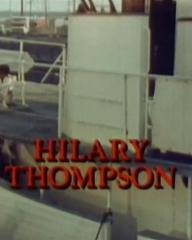 Main title from Cruise Into Terror (1978) (13). Hilarie Thompson