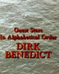Main title from Cruise Into Terror (1978) (2). Guest stars in alphabetical order. Dirk Benedict