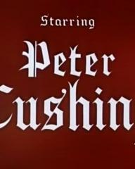 Main title from The Curse of Frankenstein (1957) (4).  Starring Peter Cushing
