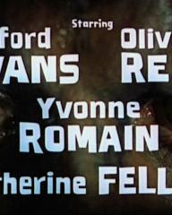 Main title from The Curse of the Werewolf (1961) (4).  Starring Clifford Evans Oliver Reed, Yvonne Romain, Catherine Feller