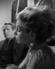 Patrick McGoohan and Joan Greenwood (as Nandina) in a photograph from Danger Man (1960-62) (3)