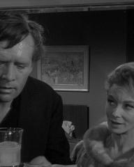 Patrick McGoohan and Joan Greenwood (as Nandina) in a photograph from Danger Man (1960-62) (9)