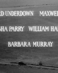 Main title from The Dark Man (1951) (3).  Edward Underdown Maxwell Reed, Natasha Parry, William Hartnell, Barbara Murray