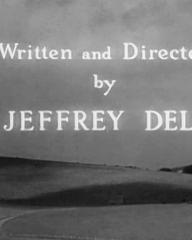 Main title from The Dark Man (1951) (9).  Written and directed by Jeffrey Dell